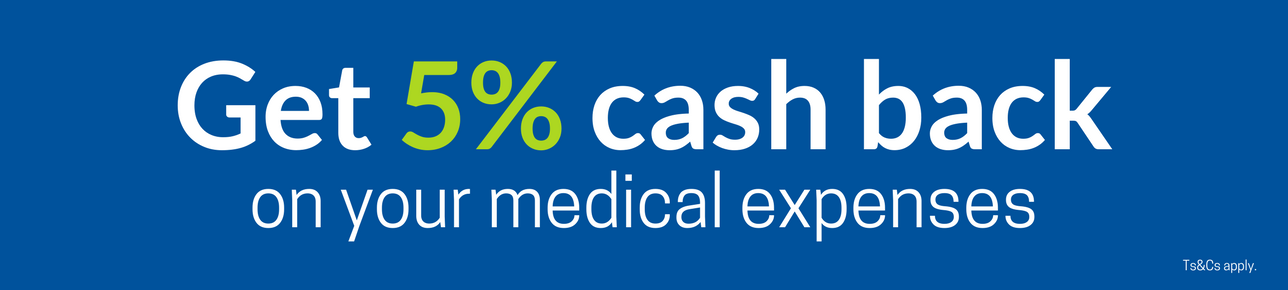 Get 5% cash back when your zero your account within 100 days!
